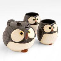 Tazas de café Taza hada /& pájaro blanco rosa porcelana 2er set sort 370 ml 11 cm