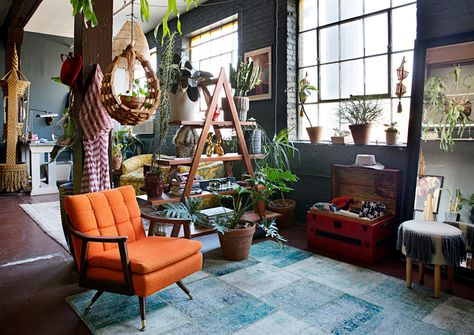 The Eclectic Maximalist Home Of Nashville's Coolest Fashion Designer - Home Tour - Lonny