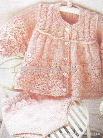 Baby Knitting Pattern Jacket And Hat Knitting Pinterest