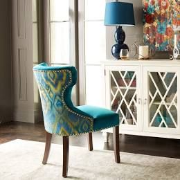 Colorful Fabric Dining Chairs Turquoise Dining Chairs Teal Dining Chairs Dining Chairs