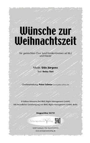 Udo Jürgens Weihnachtslieder.Männerchor Wünsche Zur Weihnachtszeit Udo Jürgens Beliebtes
