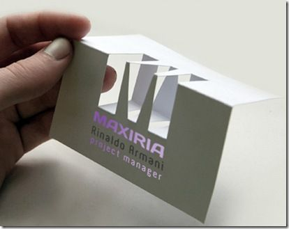 Unique and creative folded business cards vuing design unique and creative folded business cards vuing design pinterest business cards colourmoves Gallery