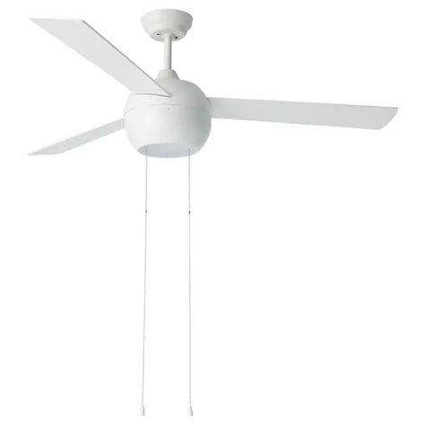 Ikea Stormvind 3 Blade Ceiling Fan With Light Ceiling Fan 3