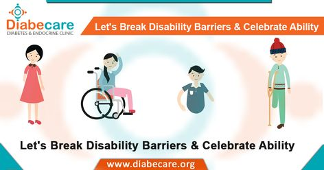 Disability ≠ Inability  On this #WorldDisabilityDay, let's salute the people who have overcome their disability and inspired us with their determination.  #InternationalDisabilityDay #Happiness #Success #Disable #Successful #Ability #Disability #Dignity #Rights #Diabecare #DrMaheshPadsalge