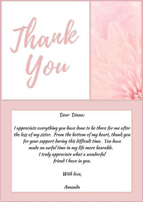 33 Best Funeral Thank You Cards Funeral Thank You Cards Sympathy Thank You Cards Funeral Thank You Notes