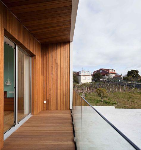 Terraza Forrada En Madera De Iroko Arquitectura Y Terrazas