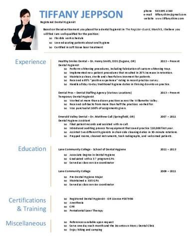 Get this and other extra cool resume templates that you can - registered dental assistant resume