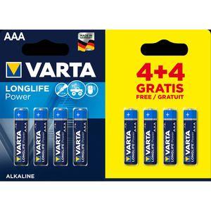 Varta Longlife Power Aaa 4 4 Power Power Led Pilas