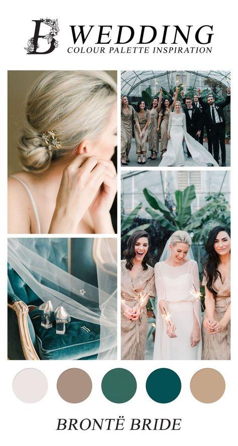 New Year's Eve Wedding - Wedding Inspiration, Colour Palette Inspiration #tealwedding #tealweddingcolours #weddingcolors #weddingcolorpaletter #weddingcolourpaletteinspiration #winterwedding…