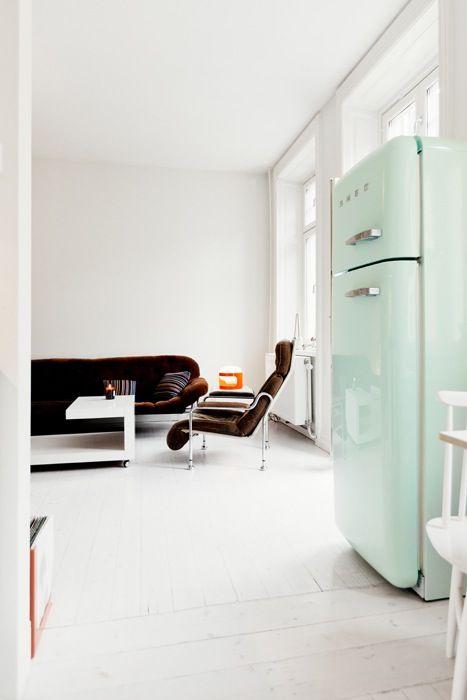 Tendance : le frigo Smeg | Interiors, Kitchens and Spaces