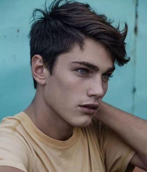 Cute Boys Haircuts, Hairstyles For Teenage Guys, Boy Haircuts Long, Boys Long Hairstyles, Haircuts For Men, Funky Hairstyles, Formal Hairstyles, Stylish Boy Haircuts, Quiff Hairstyles