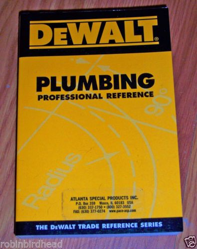 DEWALT Blueprint Reading Professional Reference (DEWALT Series - professional reference