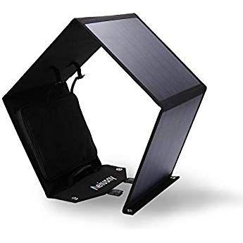 Aeiusny Solar Panel Foldable 60w Portable Solar Charger For Suaoki Jackery Webetop Portable Generato Solar Charger Portable Flexible Solar Panels Solar Heating