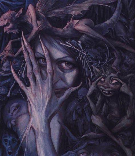 Weird Creatures, Fantasy Creatures, Mythical Creatures, Brian Froud, Ely, Fae Aesthetic, Beast Creature, True Art, Dark Fantasy Art