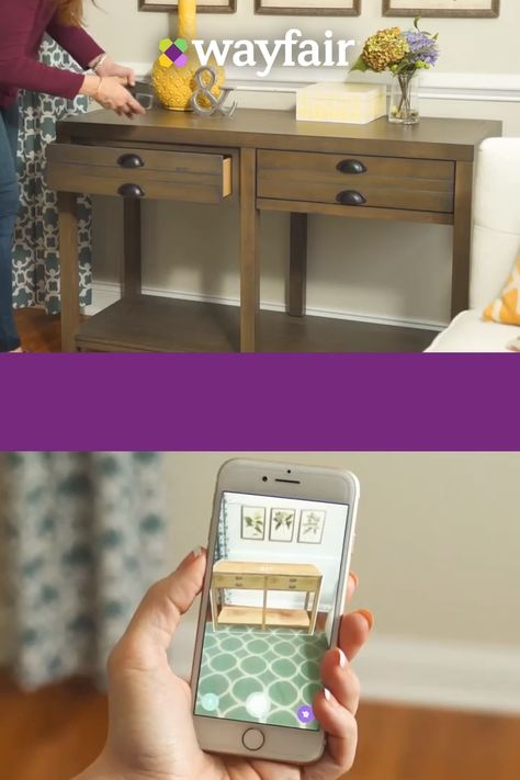Effortlessly create your dream home with the Wayfair app. Use 3D View in Room to see life-sized versions of products in your home before you buy. Install today to access this revolutionary new feature.