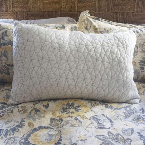 Moon Star Memory Foam Pillow White