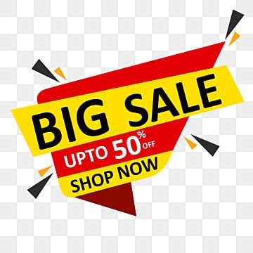 Big Sale Shop Now 50 Off Banner Sale Big Discount Png Transparent Clipart Image And Psd File For Free Download In 2021 Big Sale Shopping Sale Shop Now