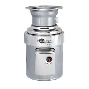 Insinkerator 1 Hp Commercial Garbage Disposal Ss100 28 The Home Depot In 2020 Garbage Disposal Large Appliances Garbage