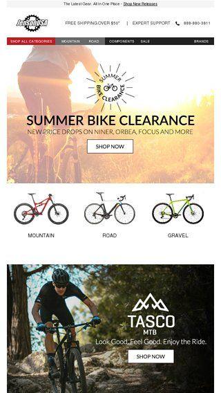 SUMMER BIKE CLEARANCE + Free Returns on Apparel - Jenson USA