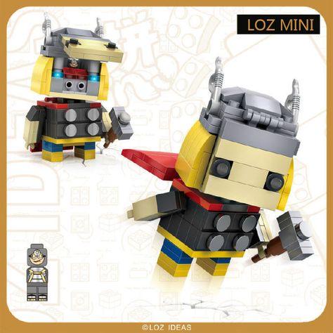 Loz mini building blocks assembled  educational toys boutique hot dog car