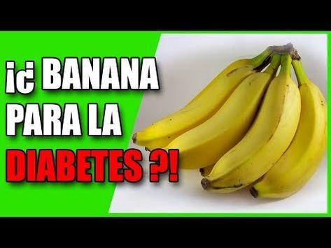 diabetes dieta plátanos