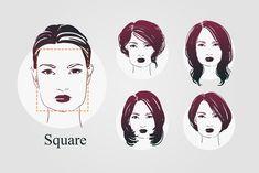 9 Face Shapes For Women And Best Hairstyles For Each Frisur Gesichtsform Haar Runde Gesichter Gesichtsform
