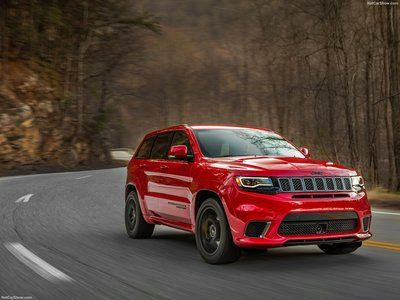 Jeep Grand Cherokee Trackhawk 2018 Poster Jeep Grand Cherokee Jeep Grand Jeep