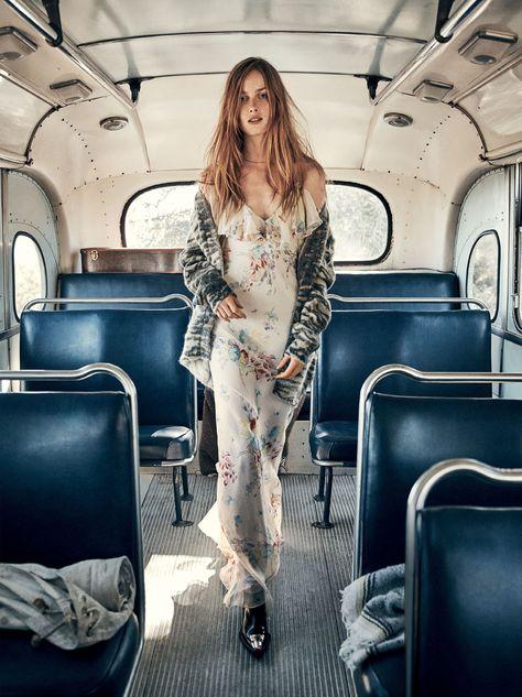 Vogue March 2016 Carolyn Murphy Gary Clark JR Grace Hartzel Rianne Van Rompaey by Craig Mcdean-7
