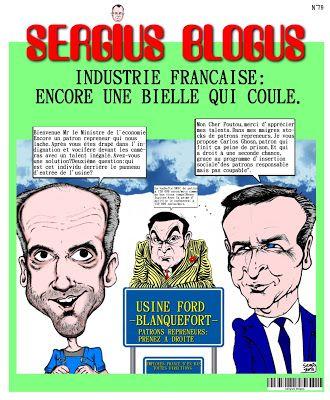 Le Sergius Blogus N 79 Est Arrive Caricature Blog