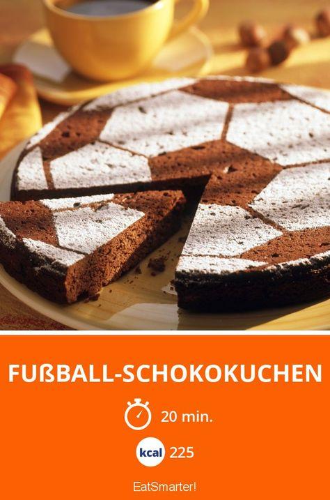 Probieren Sie den leckeren Fußball-Schokokuchen von EAT