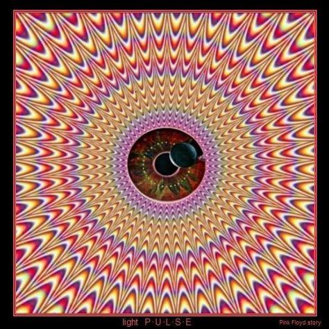 Weird Graphic Optical Effect Pink Floyd Cool Optical Illusions Cool Illusions Illusions