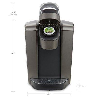Keurig K Elite Single Serve K Cup Pod Coffee Maker With Iced