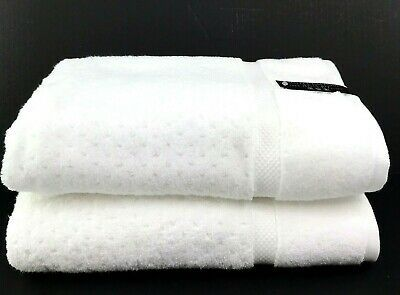 Hotel Balfour Quick Dry Luxury Bathroom Towel Set Solid White Soft