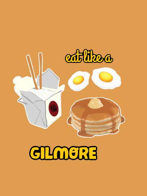 Gilmore girls wallpaper- food