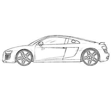Previously We Published Many Audi Coloring Pages Which Is The Favorite Car Brand Of Iron Man So Meet Our New Audi Coloring Pa Audi Coloring Pages Car Brand
