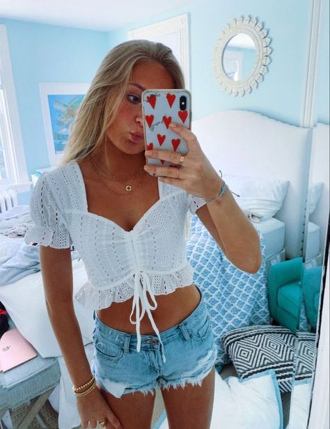 ✰ pinterest @mimosaswithmaria || insta @ shopmwm ✰ Cute Preppy Outfits, Preppy Girl, Cute Summer Outfits, Girly Outfits, Preppy Style, Pretty Outfits, Preppy Clothes, Teen Fashion Outfits, Outfits For Teens