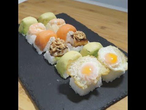 Hacer Sushi Con Cubiteras De Hielo Sushi Fácil Y Rápido En