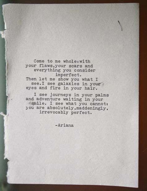 love poem original poetry typewritten come to me whole poem image 1