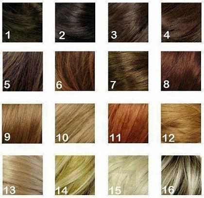 Image Result For Hair Dye Type 2 Colors Hair Color Chart Hair Hair Color