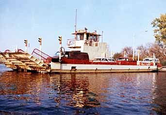 The Merrimac Free Ferry - who doesn't like a ferry ride? And this one is free!