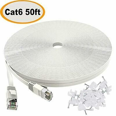 Cable De Internet Plano Xbox 50 Ft Cable Ethernet Cat6 Cable De Red Para Ps4