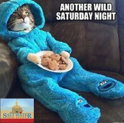 Have a relaxing Saturday!  #saltytoesrealtor #carolynkaster #saltwaterrealestate  #chillin