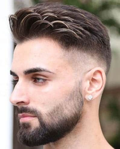 The 30 Most Stylish Comb Over Fade Haircuts 2019 Hairstyles Guide Beard Styles Shape Comb Over Fade Haircut Beard Styles Short