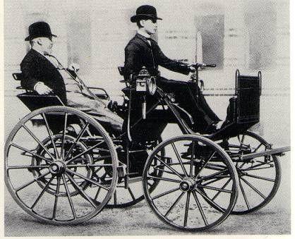 Benzinle Calisan Ilk Otomobil 1887 Yilinda Gottlieb Daimler