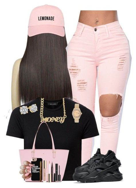 """""""Untitled #308"""" by obeyakira ❤ liked on Polyvore featuring NIKE, Rolex, Kate Spade, Chanel, Marc Jacobs and Casetify"""