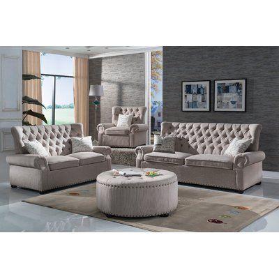 Laurel Foundry Modern Farmhouse Rosalie Configurable Living Room Set Wayfair Di 2021 Ide Ruang Tamu Modern Sofa Makeover Kursi Ruang Keluarga