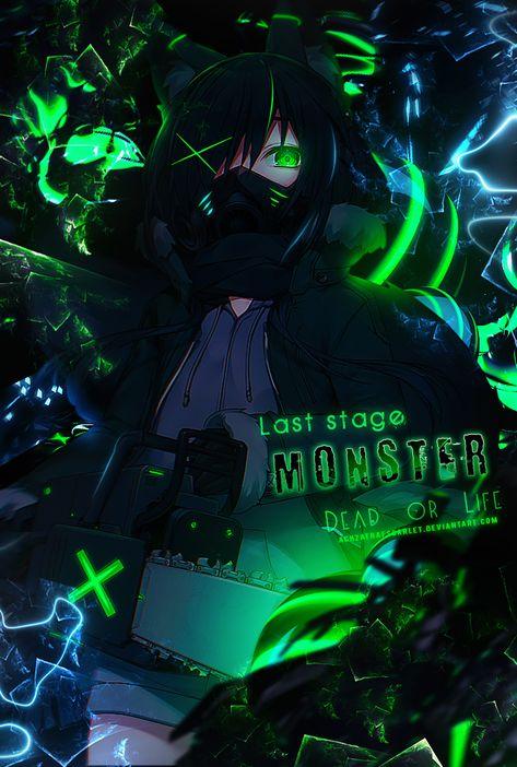 Sampel 165 | Monster by AchzatrafScarlet on DeviantArt