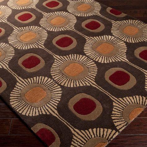 Dewald Geometric Handmade Tufted Wool Multicolor Area Rug Area Rugs Hand Tufted Rugs Diy Carpet