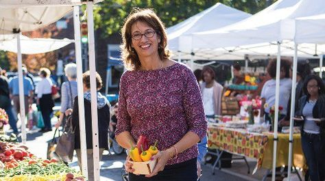 The Making of a Market -- North Union Farmers Market, started by Donita Anderson. From Our Ohio magazine