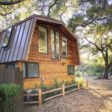 Gambrel Roof Style Interior Design Pinterest